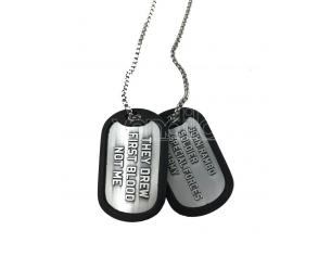 Rambo Dog Tags Con Ball Chain Logo Fanattik