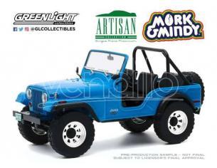 Mork & Mindy Diecast Model 1/18 1972 Jeep CJ-5 Greenlight Collectibles
