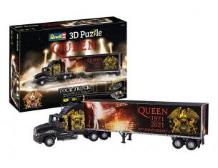 Queen 3D Puzzle Truck & Trailer Revell