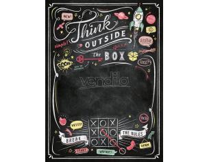 Think Outside The Box Blackboard Puzzle Clementoni