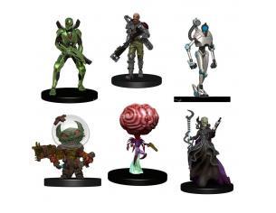 Starfinder Battles Pre-painted Miniatures 6-pack Starter Pack: Monster Pack Wizbambino
