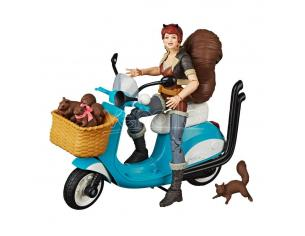 Marvel Legends Series Action Figura Con Vehicle Squirrel Girl 15 Cm Hasbro