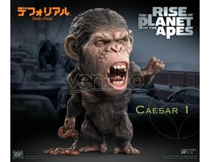 Rise Of The Planet Of The Apes Deform Real Series Soft Vinile Statua Caesar Chain Ver. 15 Cm Star Ace Toys