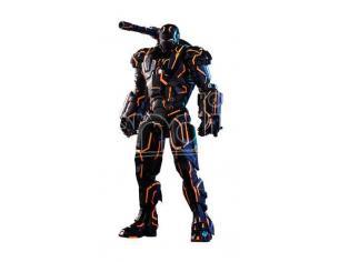 Iron Man 2 Movie Masterpiece Series Diecast Action Figura 1/6 Neon Tech War Machine Hot Toys Excl. Hot Toys