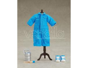 Original Character Parts For Nendoroid Bambola Figures Outfit Set Colorful Coveralls - Blue Good Smile Company