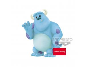 Disney Pixar Fluffy Puffy Petit Mini Figura Sulley (monsters Inc.) 5 Cm Banpresto