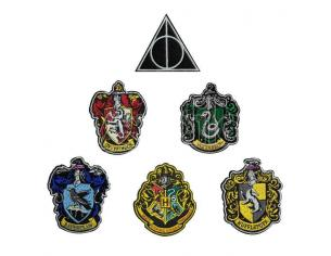 Harry Potter Patches 6-Pack House Crests Cinereplicas