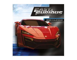Fast & Furious Calendar 2020 Pyramid International