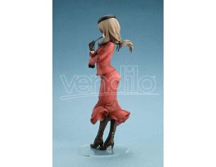 Girls Und Panzer Das Finale Pvc Statua 1/7 Chiyo Shimada 24 Cm Amakuni