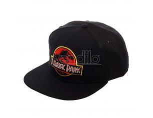 Jurassic Park Cappellino Cappellino Snapback Logo Black Pcm
