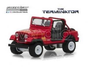 Terminator Diecast Model 1/18 1983 Jeep Cj-7 Renegade Con Figura Greenlight Collectibles