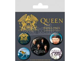 Queen Spilla Badges 5-pack Classic Pyramid International