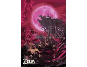 Legend Of Zelda: Breath Of The Wild Poster Pack Ganon Blood Moon 61 X 91 Cm (5) Pyramid International