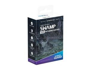 Ultimate Guard Printed Sleeves Standard Size Lands Edition II Swamp (100) Ultimate Guard