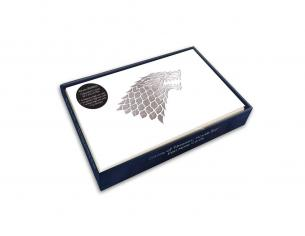Game Of Thrones Foil Note Cards 12-Pack House Sigil 89 X 132 Mm Insight Editions