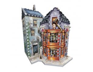 Harry Potter 3D Puzzle DAC Weasley's Wizard Wheezes & Daily Prophet Wrebbit Puzzle