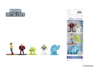 Disney Nano Metalfigs Diecast Mini Figures 5-Pack Disney Pixar 4 Cm Jada Toys