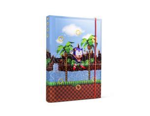Sonic The Hedgehog A5 Agenda Anelli Half Moon Bay
