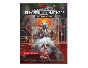 Dungeons & Dragons RPG Waterdeep: Dungeon Of The Mad Mage - Maps & Miscellany English Wizards of the Coast