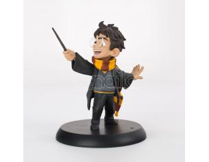 Harry Potter Q-fig Figura Harry's First Spell 9 Cm Quantum Mechanix
