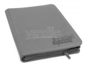 Ultimate Guard Zipfolio 320 - 16-Pocket XenoSkin Grey Ultimate Guard
