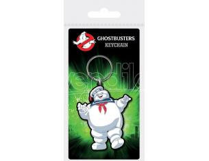 Ghostbusters Rubber Portachiavis Stay Puft 6 Cm Case (10) Pyramid International