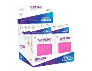 Ultimate Guard Supreme UX Sleeves Standard Size Pink (80) Ultimate Guard