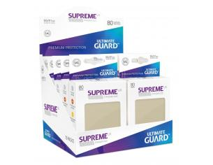 Ultimate Guard Supreme UX Sleeves Standard Size Sand (80) Ultimate Guard