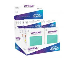 Ultimate Guard Supreme UX Sleeves Standard Size Turquoise (80) Ultimate Guard