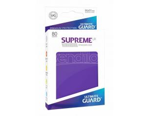 Ultimate Guard Supreme UX Sleeves Standard Size Purple (80) Ultimate Guard