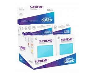 Ultimate Guard Supreme UX Sleeves Standard Size Aquamarine (80) Ultimate Guard