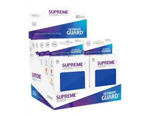 Ultimate Guard Supreme UX Sleeves Standard Size Blue (80) Ultimate Guard