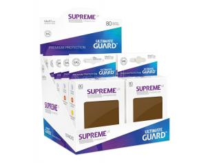 Ultimate Guard Supreme UX Sleeves Standard Size Brown (80) Ultimate Guard