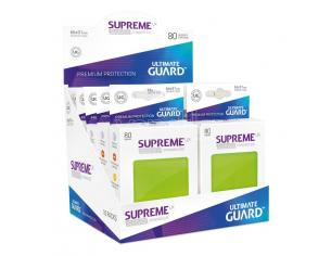 Ultimate Guard Supreme UX Sleeves Standard Size Light Green (80) Ultimate Guard