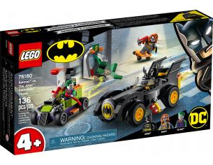LEGO SUPER EROI 76180 - BATMAN VS JOKER INSEGUIMENTO CON LA BATMOBILE