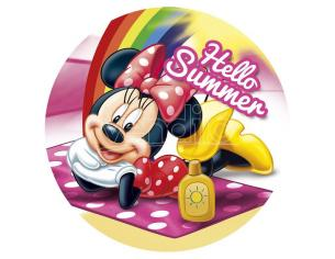 Disney Minnie Round Asciugamano Bambino Licensing