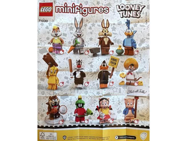 LEGO MINIFIGURES 71030 - MINIFIGURES LOONEY TUNES SCEGLI IL PERSONAGGIO SERIE 2021