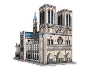 Wrebbit Castles & Cathedrals Collection 3D Puzzle Notre-Dame De Paris (830 Pieces) Wrebbit Puzzle