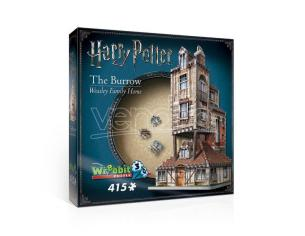 Harry Potter 3D Puzzle The Burrow (Weasley Family Home) Wrebbit Puzzle