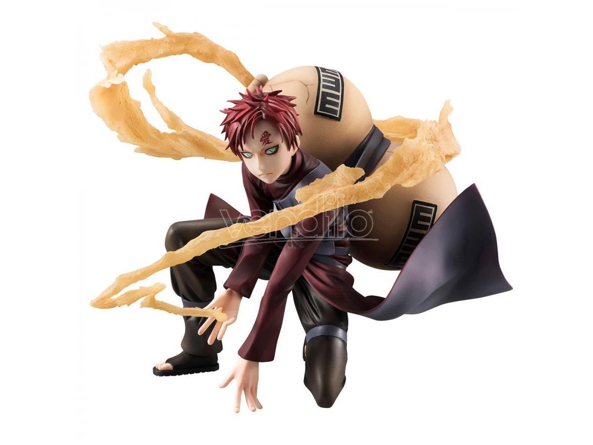 Naruto Shippuden G.e.m. Series Pvc Statua 1/8 Gaara 15 Cm Megahouse