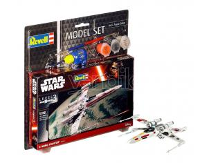 Star Wars Model Kit 1/112 Model Set X-Wing Fighter 11 Cm Revell