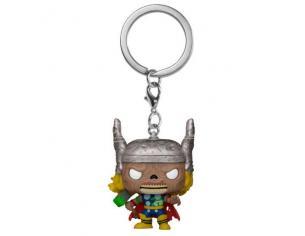 Pocket Pop Portachiavi Marvel Zombies Thor Funko