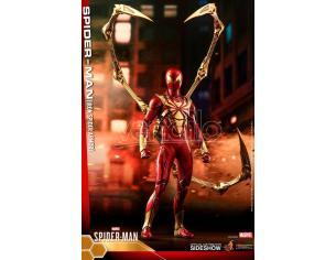 Marvel's Spider-man Video Game Masterpiece Action Figura 1/6 Spider-man (iron Spider Armor) 30 Cm Hot Toys