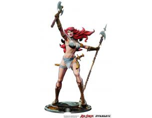 Red Sonja Statua Red Sonja 45th Anniversary By Frank Thorne 32 Cm Dynamite Entertainment