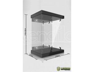 Master Light House Acrylic Display Case Con Lighting For 1/6 Action Figures (black) Legend Studio