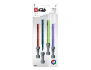 Star Wars Gel Pens 4-Pack Lightsaber Joy Toy
