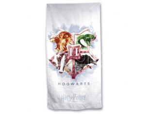 Harry Potter Telo Mare Hogwarts in Microfibra Warner Bros