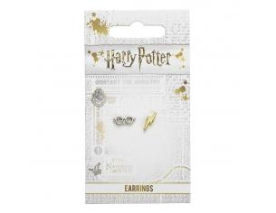 Harry Potter Orecchini Lightening Bolt & Bicchieri Carat Shop, The