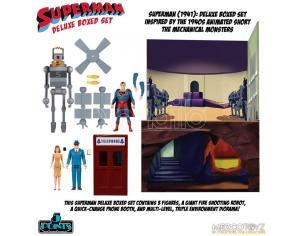 5 Points Mechanical Monsters 1941 Set Action Figura Mezco Toys