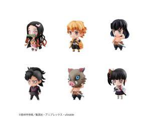Demon Slayer Tanjiro+friends Mascot+regalo Mini Figura Megahouse